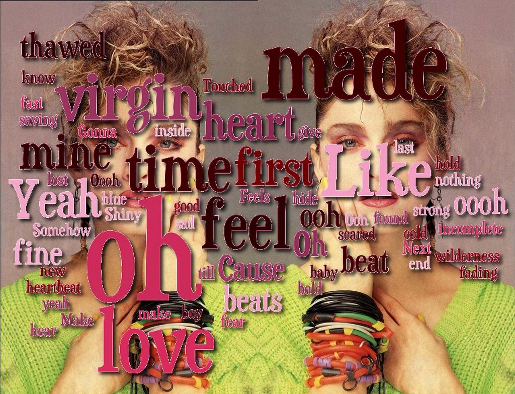 gravierter Keuschheitsgütel für Madonna: Like a Virgin